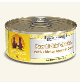 Weruva Weruva Paw Lickin Chicken with Chicken Breast in Gravy Dog Food 5.5oz