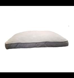 Petcrest Petcrest Dog Bed Pillow Reversible Grey Napper 36x27