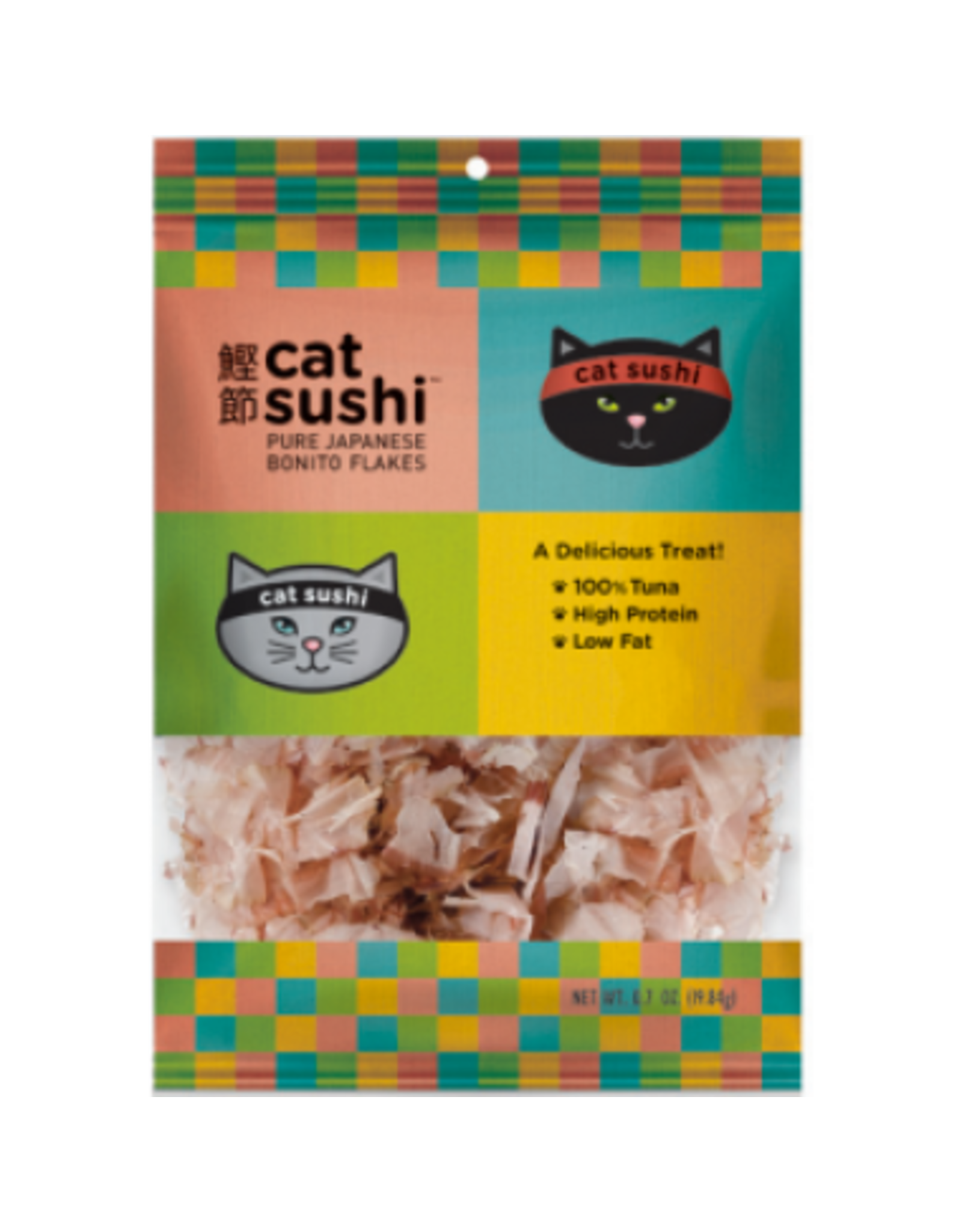 Presidio Presidio Cat Sushi Classic Cut Bonito Flakes .7oz
