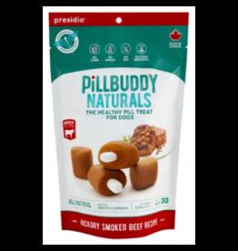 Presidio Presidio Pill Buddy Naturals Pill Treat Hickory Smoked Beef Recipe 30ct