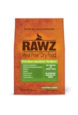 Rawz Rawz Meal Free Dehydrated Chicken, Turkey & Chicken Dog Food