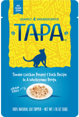 Rawz Rawz Tapa Chicken Breast & Duck Recipe Cat Food 1.76oz