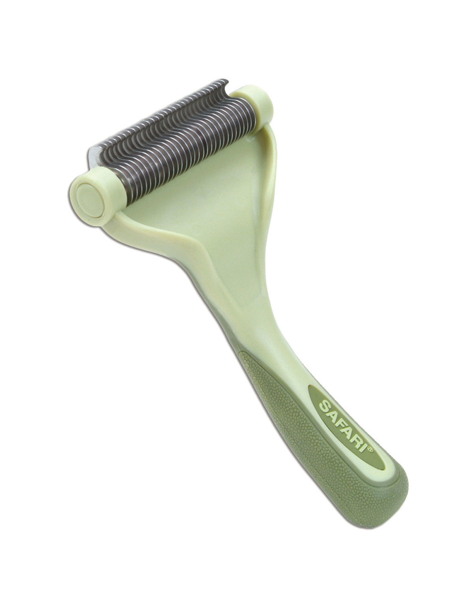 Coastal Pet Products Safari Shed Magic De-Shedding Tool for Dogs with Medium to Long Hair