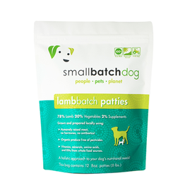 Small Batch Small Batch Dog Lamb Patties 6lb