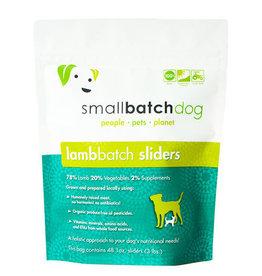 Small Batch Small Batch Dog Lamb Sliders 3lb
