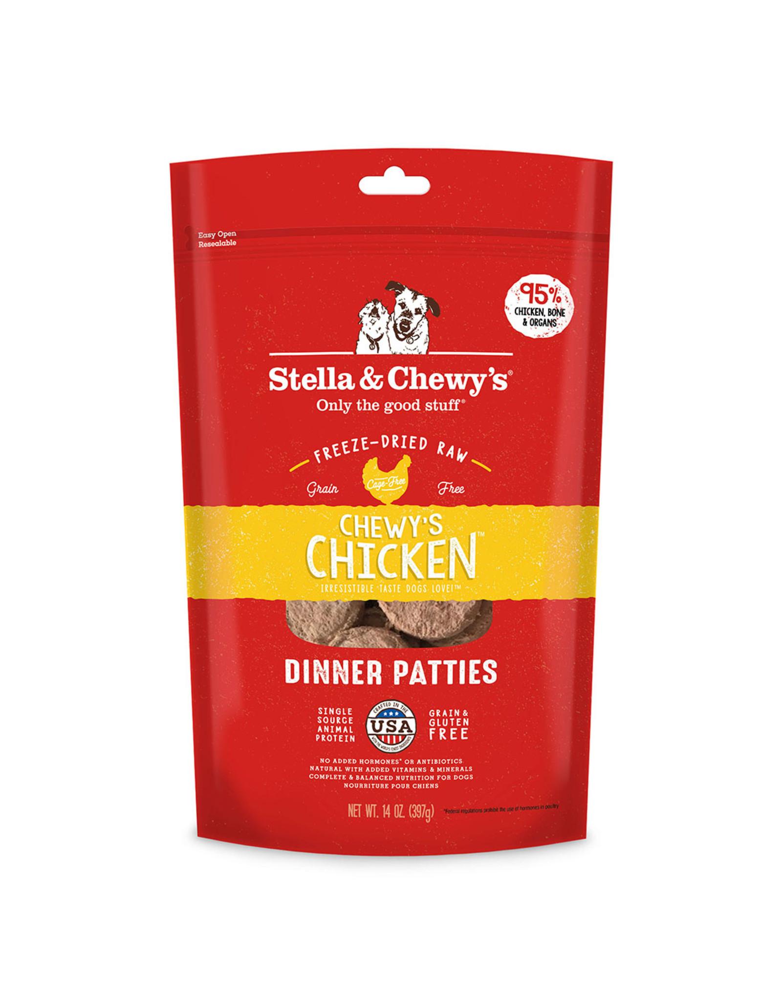 Stella & Chewy's Stella & Chewy's Freeze Dried Chicken Dinner Patties 14oz