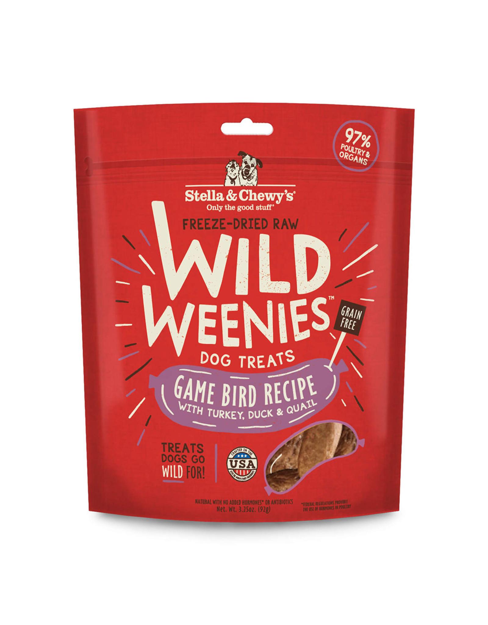 Stella & Chewy's Stella & Chewy's Wild Weenies Dog Treats Game Bird Recipe 3.25oz