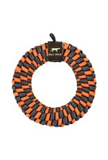Tall Tails Tall Tails Braided Orange Ring Toy