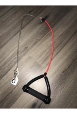 Xtreme Pet Products Xtreme Standard Leash Jr. Bungee/Chain - Red