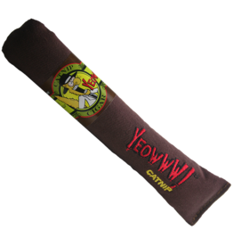 "Ducky World Yeowww! Cigar Catnip Toy 7"""