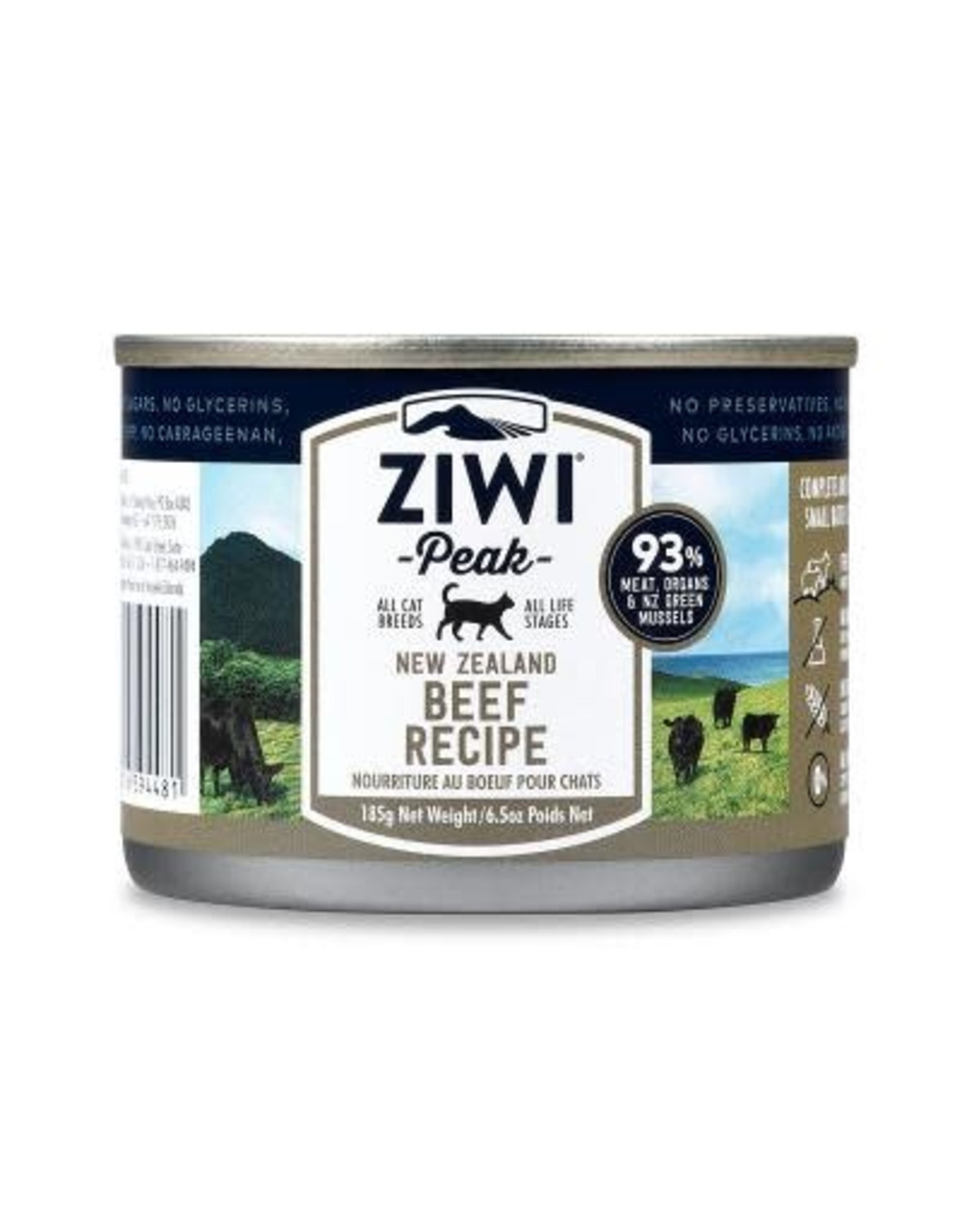 Ziwi Peak Ziwi Peak Beef Recipe for Cats 6.5oz