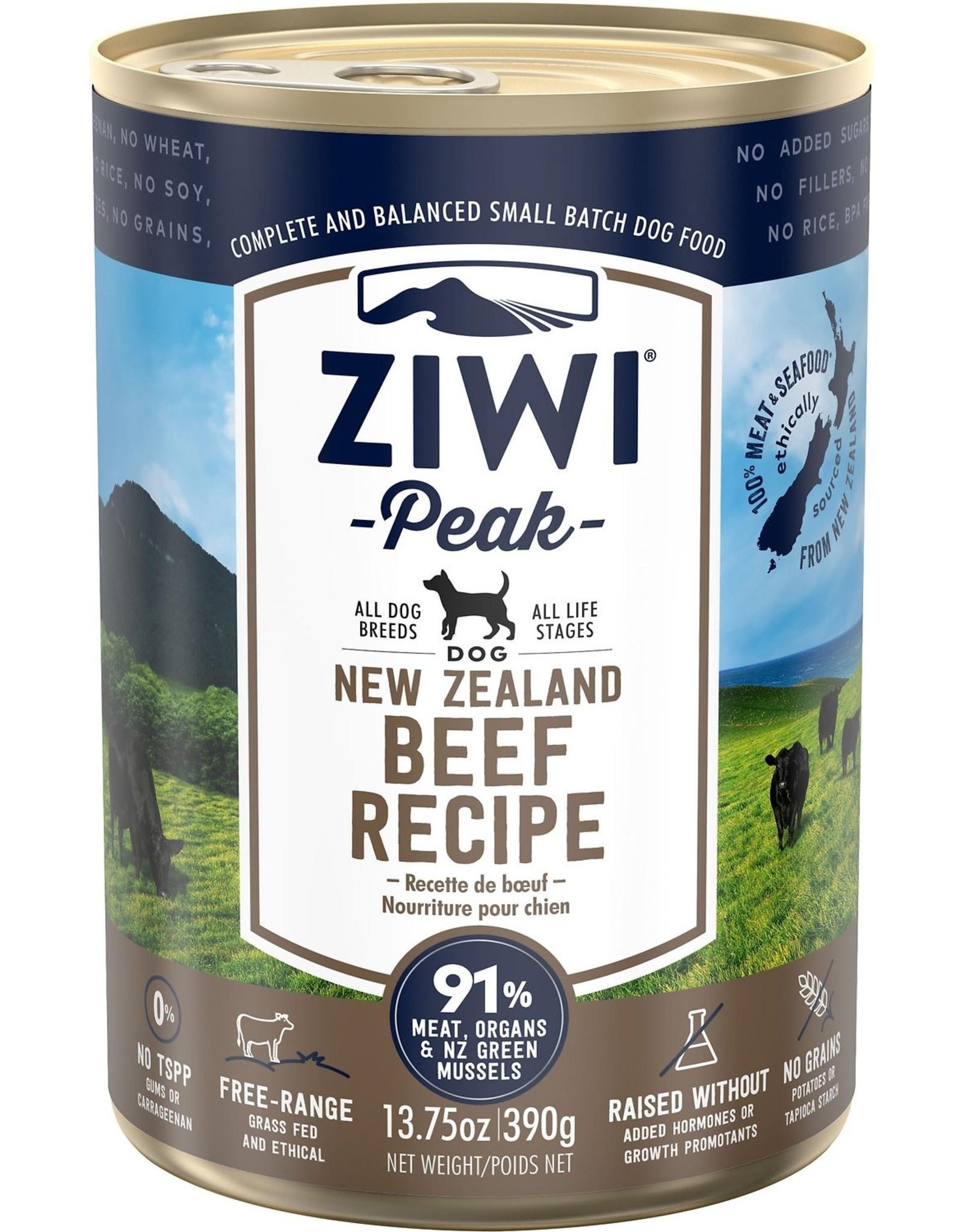 Ziwi Peak Ziwi Peak Beef Recipe for Dogs 13.75oz