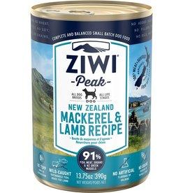 Ziwi Peak Ziwi Peak Mackerel & Lamb Recipe for Dogs 13.75oz