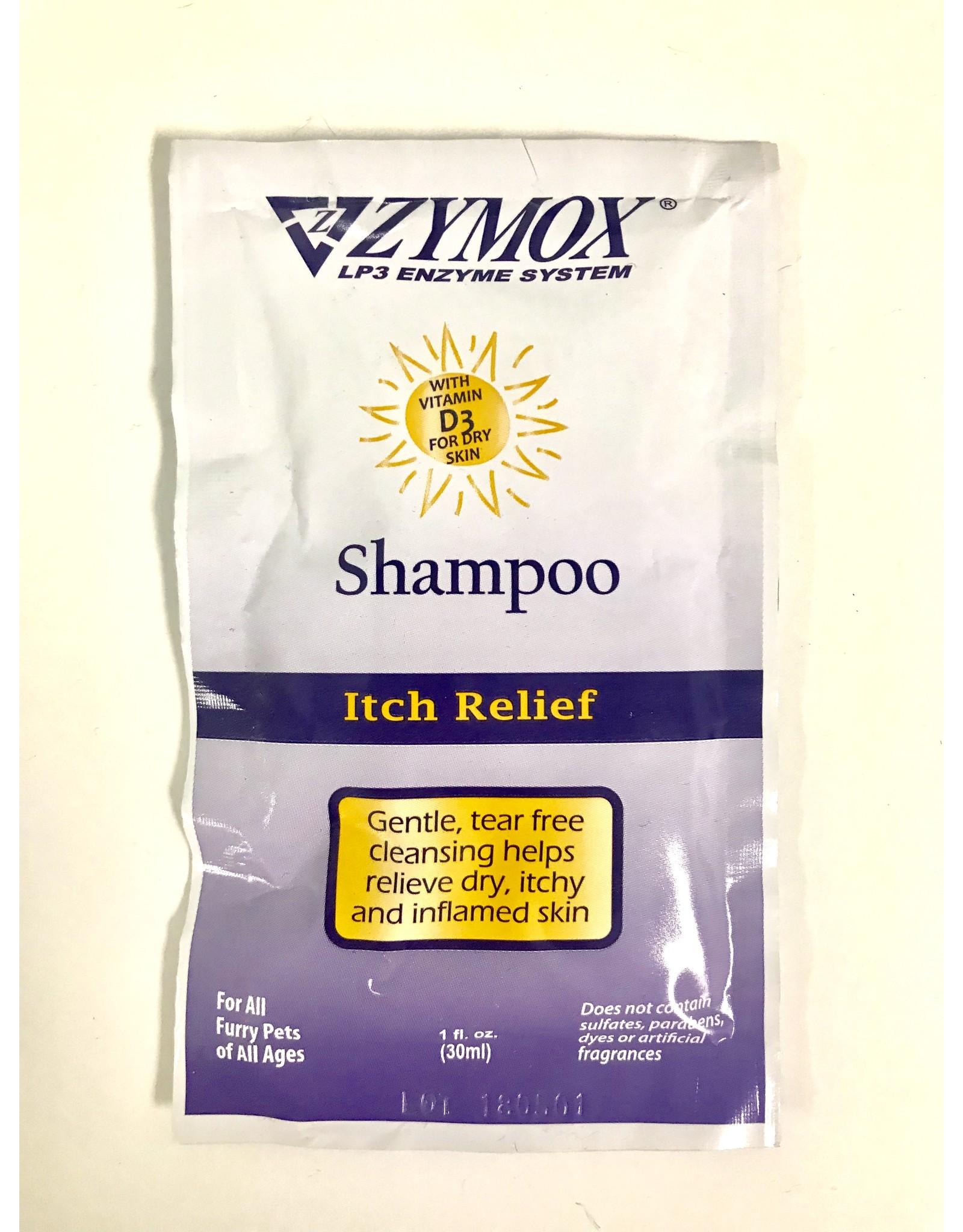 Zymox Zymox Itch Relief Shampoo Foil Pack 1oz