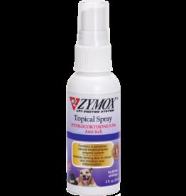 Zymox Zymox Topical Spray .5% Hydrocortisone 2oz