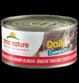 Almo Nature Almo Nature HQS Daily Complete Tuna w/Shrimp in Broth Cat Food 2.47oz