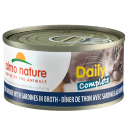 Almo Nature Almo Nature HQS Daily Complete Tuna w/Sardines in Broth Cat Food 2.47oz