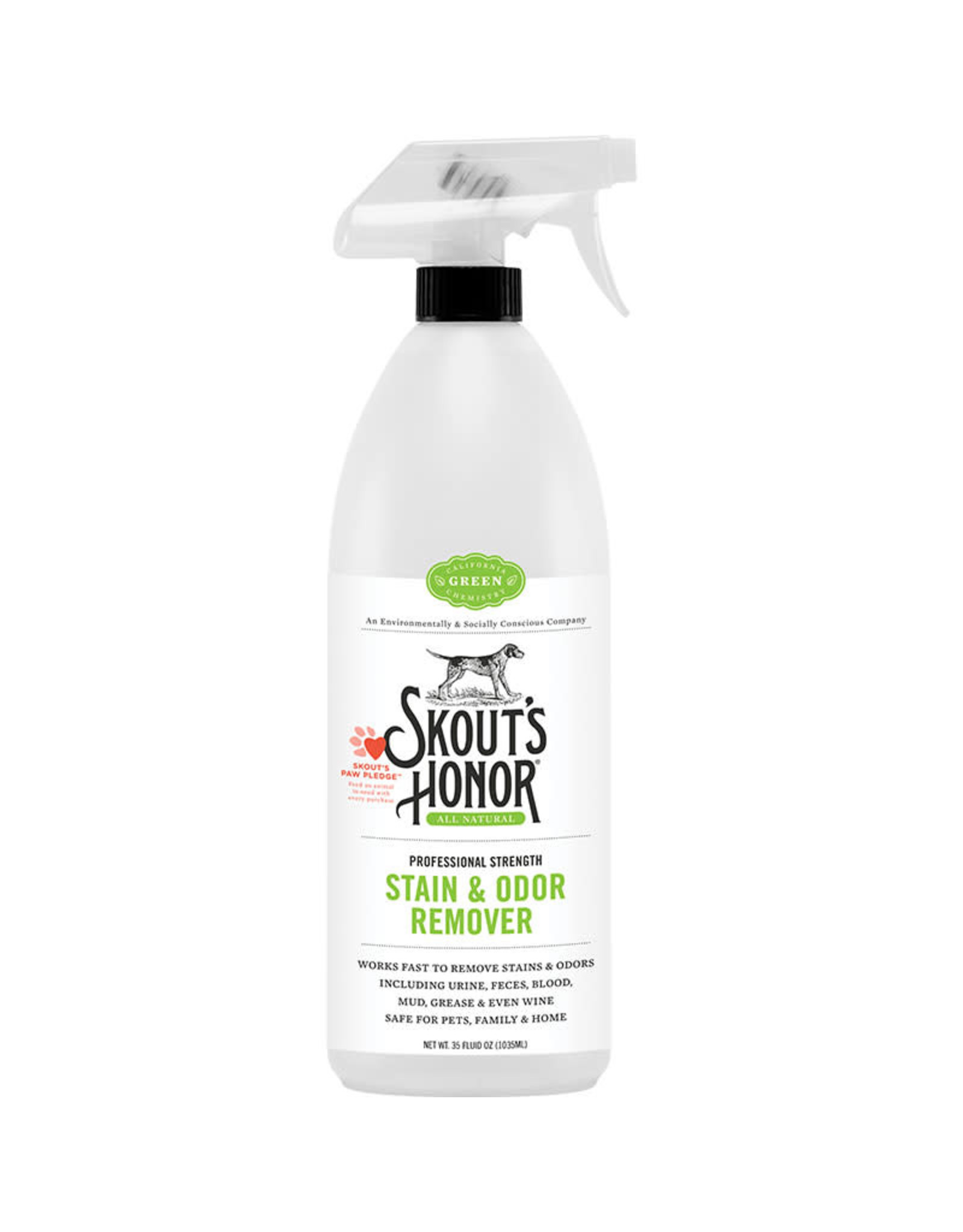 Skout's Honor Skout's Honor Dog Stain & Odor Remover 35oz