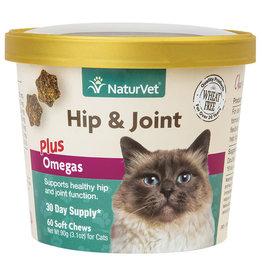 NaturVet NaturVet Cat Hip & Joint Soft Chews 60ct