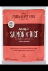 Portland Pet Food Portland Pet Food Wally's Salmon & Rice Homestyle Dog Meal 9oz