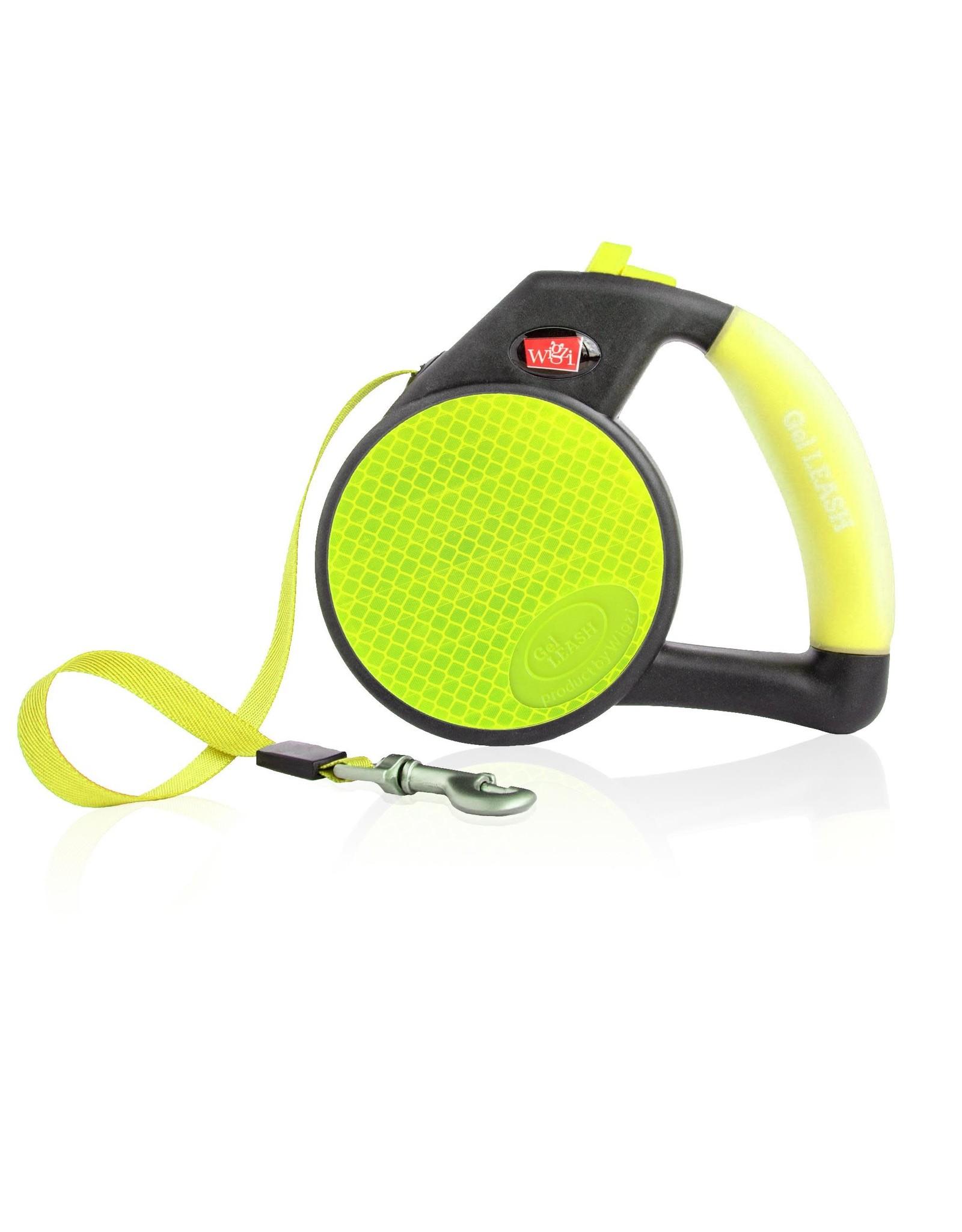 Wigzi Wigzi Gel Handle Reflective Retractable Leash