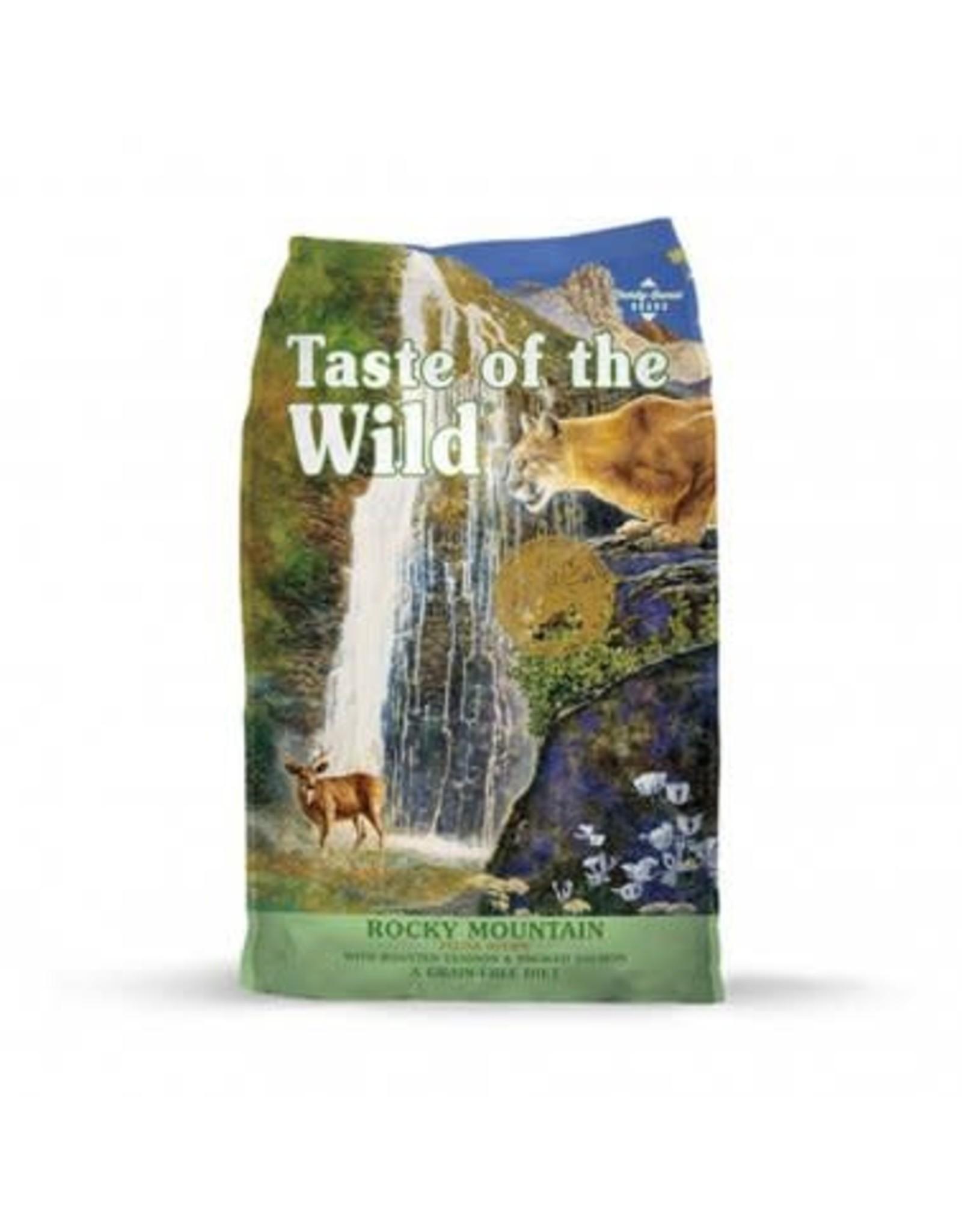Taste of the Wild Taste of the Wild Rocky Mountain Feline Recipe w/Roasted Venison & Smoked Salmon