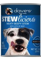 Dave's Pet Food Dave's Stewlicious Meaty Beefy Stew Dog Food 13.2oz