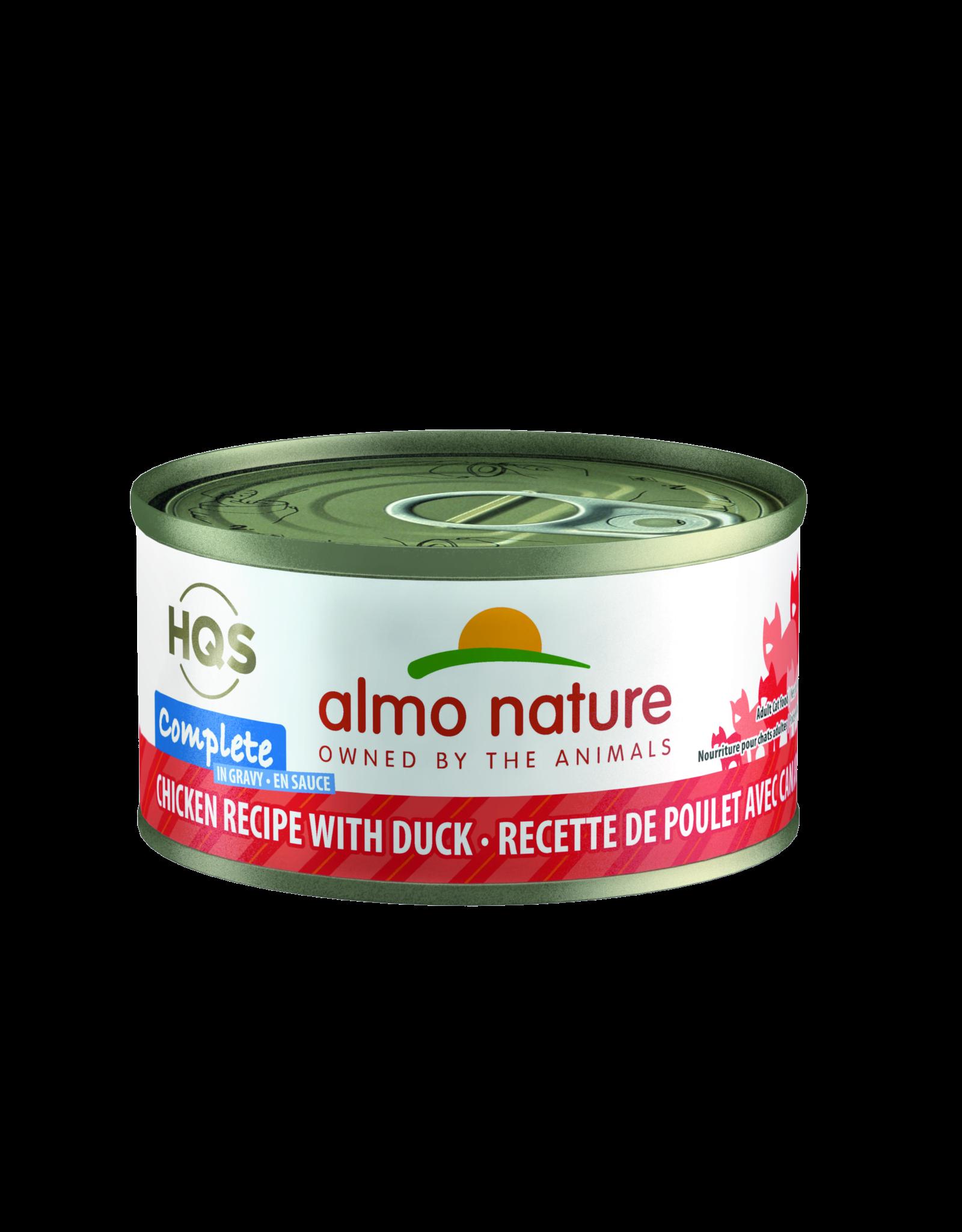 Almo Nature Almo Nature HQS Complete Chicken Recipe w/Duck Cat Food 2.47oz