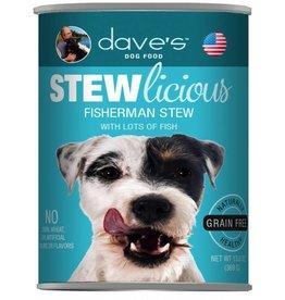 Dave's Pet Food Dave's Stewlicious Fisherman Stew Dog Food 13oz