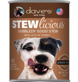 Dave's Pet Food Dave's Stewlicious Gobbledy Good Stew Dog Food 13oz