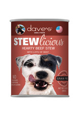 Dave's Pet Food Dave's Stewlicious Hearty Beef Stew Dog Food 13oz