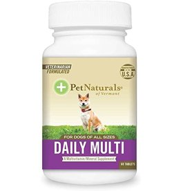 Pet Naturals of Vermont Daily Multivitamin for Dogs 60ct