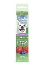 Tropiclean Tropiclean Fresh Breath No Brushing  Clean Teeth  Oral Gel Berry 2oz