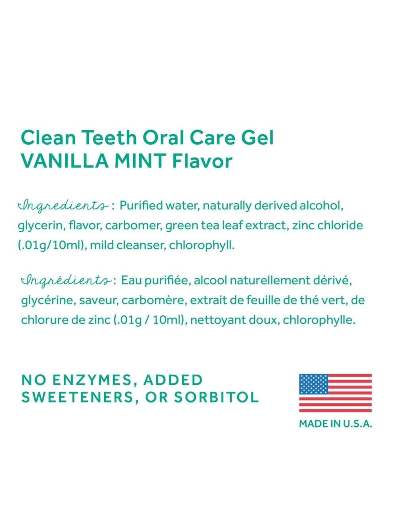 Tropiclean Tropiclean Fresh Breath No Brushing Clean Teeth Oral Gel Vanilla Mint 2oz