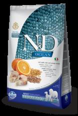 Farmina N&D Farmina N&D Ocean Cod, Spelt, Oats & Orange Med/Maxi Adult Dog Food