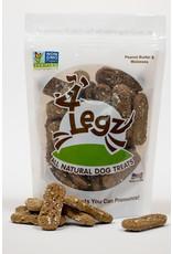 "4Legz 4Legz Peanut Butter/Molasses ""Kitty Roca"" Dog Treats 8oz"