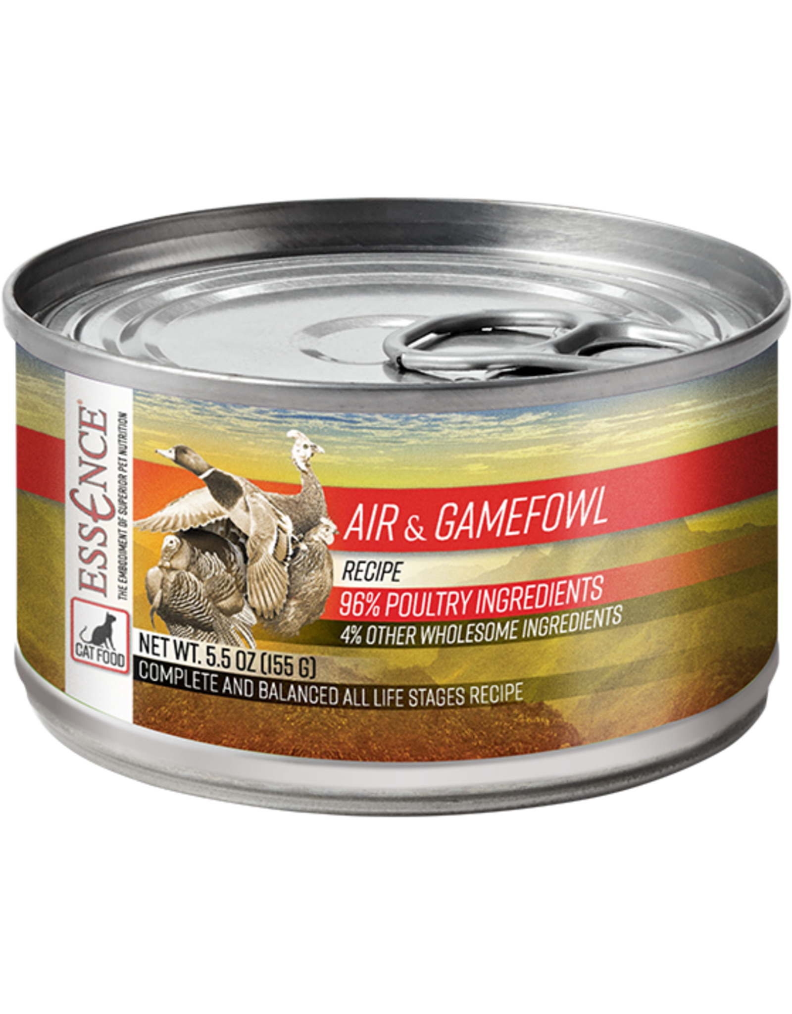 Essence Essence Air & Gamefowl Recipe Cat Food 5.5oz