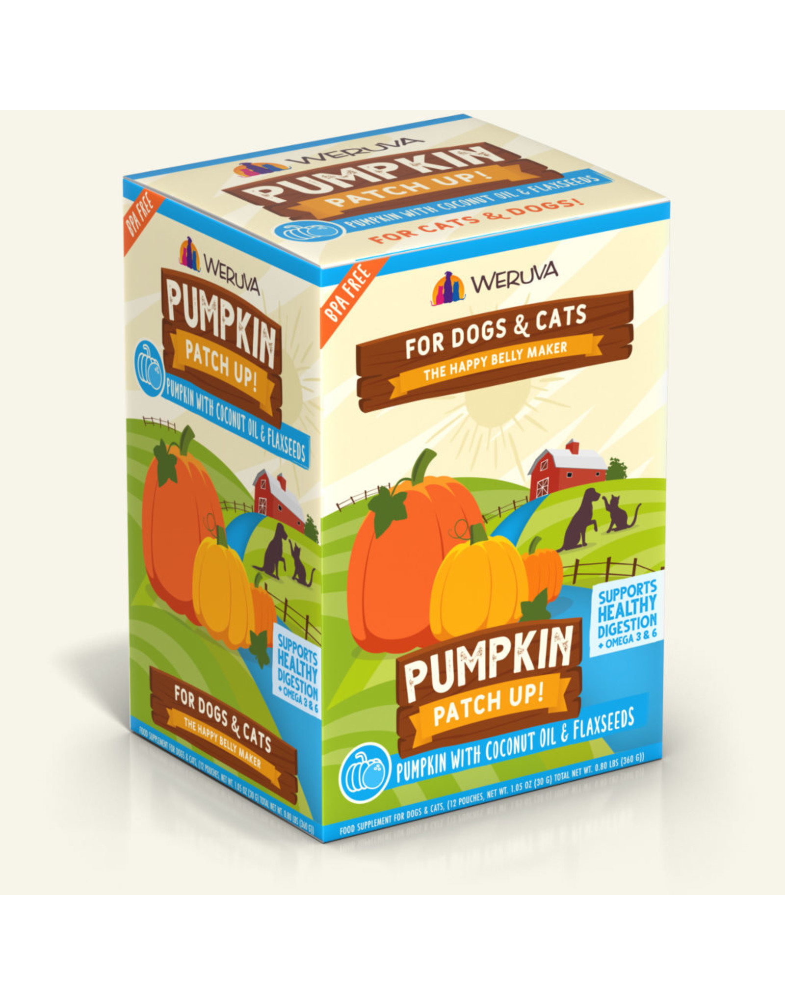 Weruva Weruva Pumpkin Patch Up! Pumpkin with Coconut Oil & Flaxseed 1.05oz