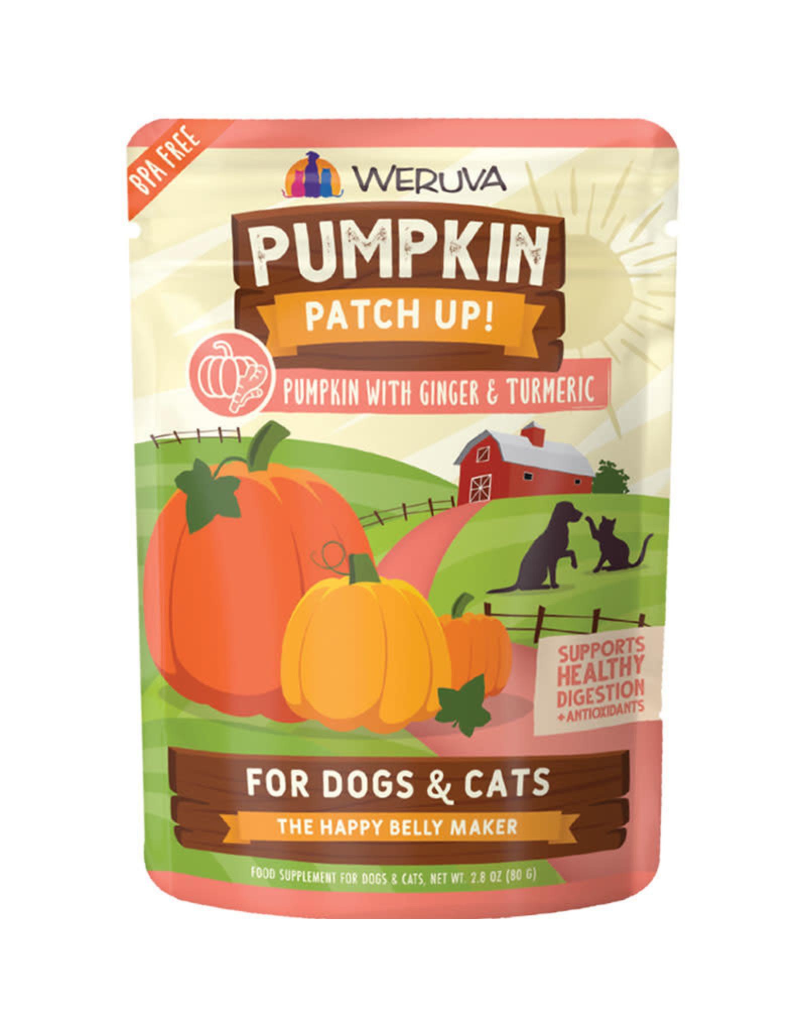 Weruva Weruva Pumpkin Patch Up! Pumpkin with Ginger & Turmeric 2.8oz