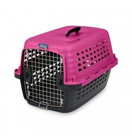 "Petmate Petmate Vari Kennel Fashion Pink/Black 24"""