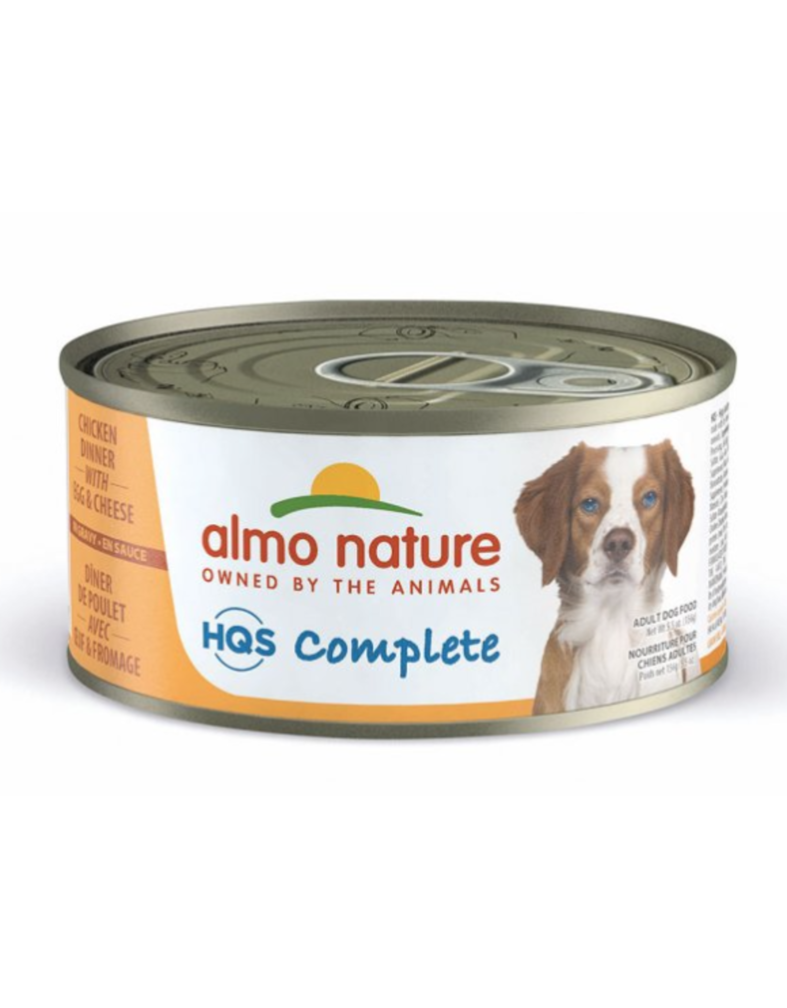 Almo Nature Almo Nature HQS Complete Chicken Dinner w/ Egg & Cheese Dog Food 5.5 Oz