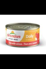 Almo Nature Almo Nature HQS Daily Tuna w/ Salmon in Broth Cat Food 2.47 oz