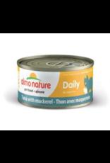 Almo Nature Almo Nature HQS Daily Tuna w/ Mackerel in Broth Cat Food 2.47 Oz