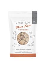 Green Juju Green Juju Bison Liver Trainers Freeze-Dried Whole Food Bites 3oz