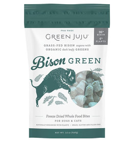 Green Juju Green Juju Bison Green Freeze Dried Whole Food Bites for Dogs & Cats