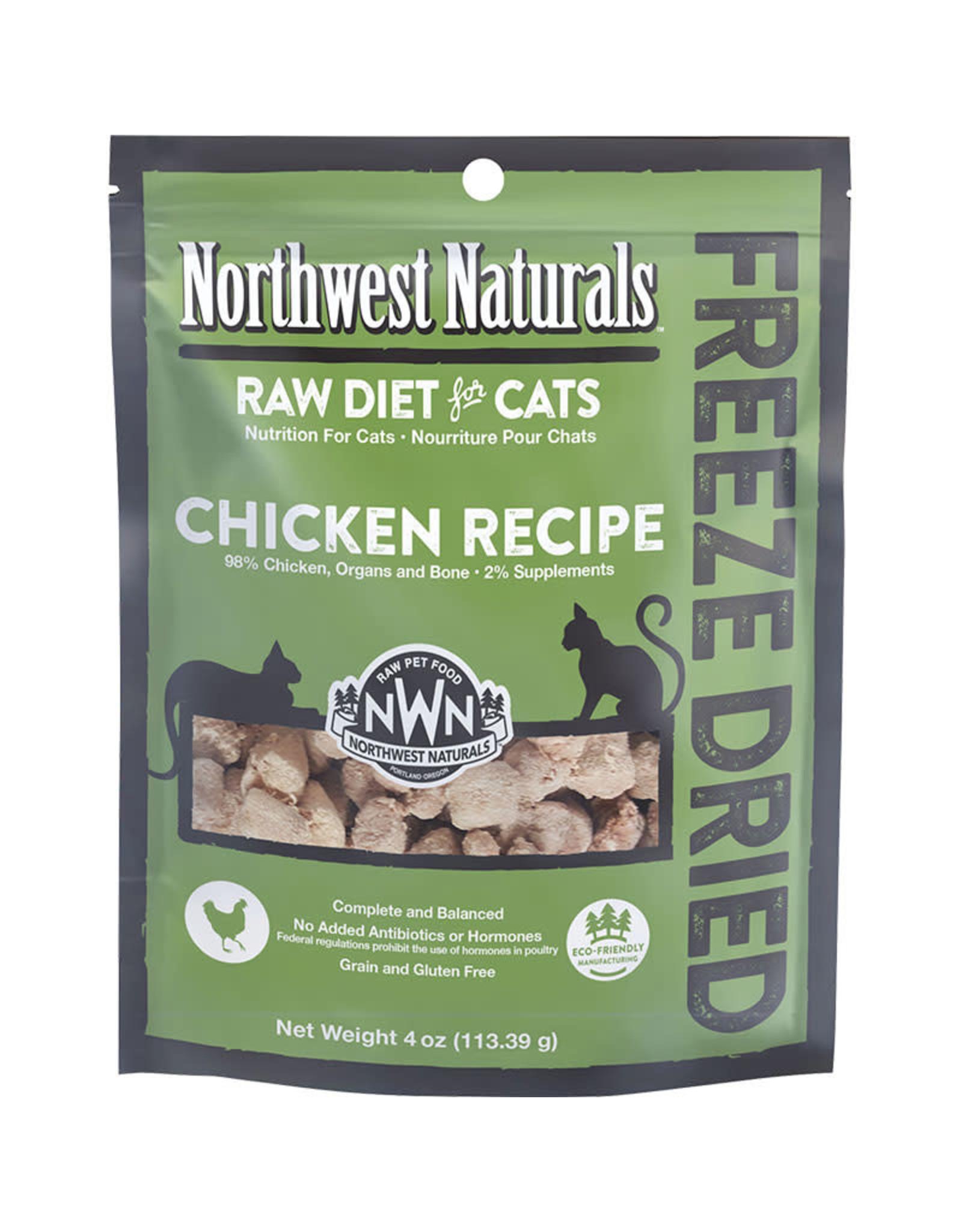 Northwest Naturals Northwest Naturals Raw Diet for Cats Freeze-Dried Chicken Recipe