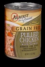 Against The Grain Against The Grain Hand Pulled Chicken w/Gravy Dinner for Dogs 12oz