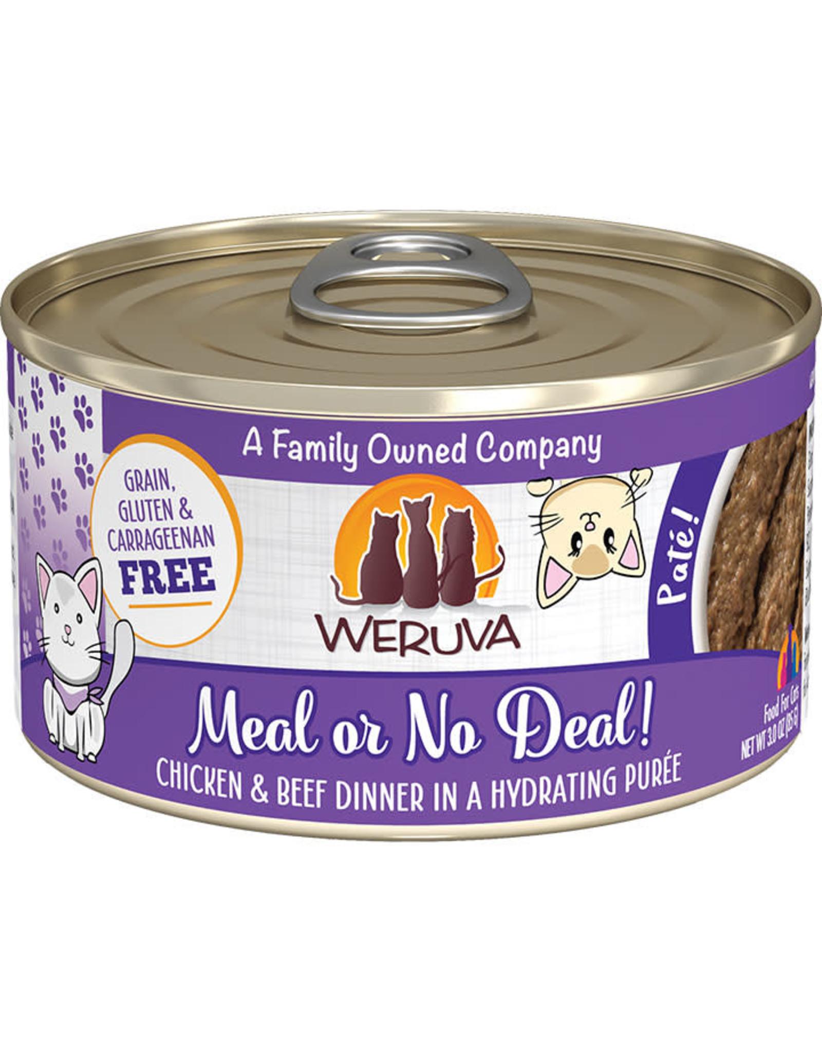 Weruva Weruva Meal or No Deal Chicken & Beef Dinner Pate Cat Food 3oz
