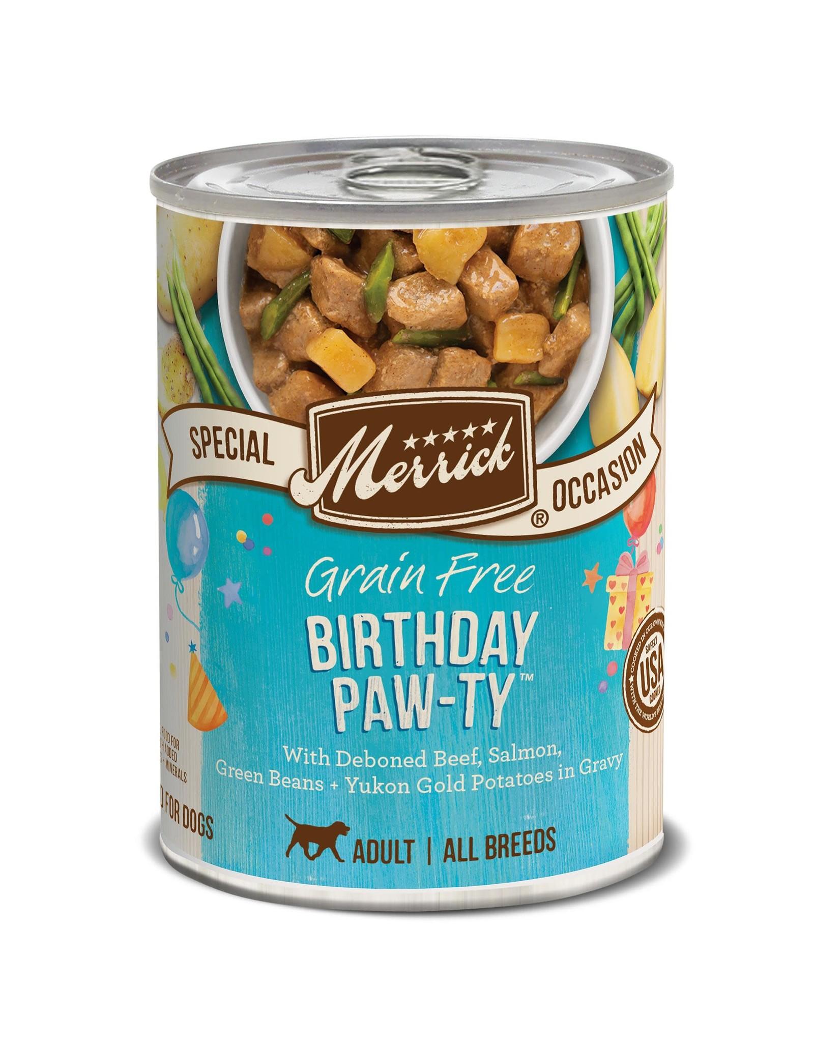 Merrick Merrick Grain-Free Birthday Paw-ty Dog Food 12.7oz
