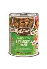 Merrick Merrick Grain-Free Pawlicious Picnic in Gravy Dog Food 12.7oz